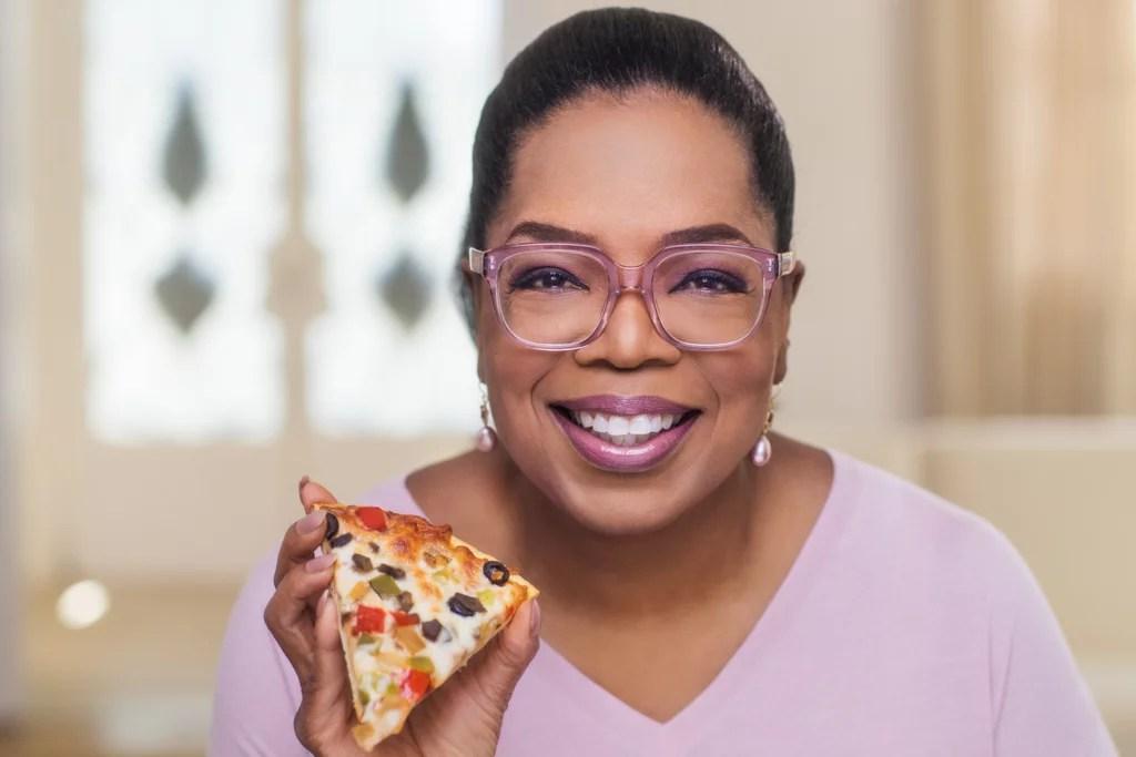 Oprah's Frozen Cauliflower Pizza