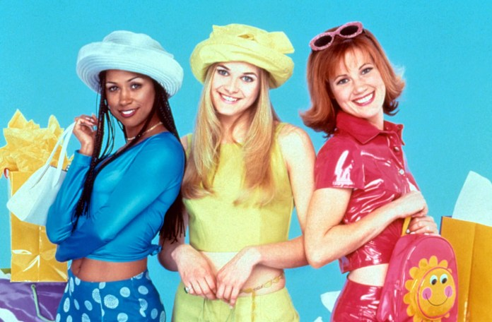 CLUELESS, Stacey Dash, Rachel Blanchard, Elisa Donovan, 1996-99,  Paramount / Courtesy: Everett Collection