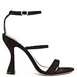 Sophia Webster Rosalind Hourglass-Heel Suede Sandals