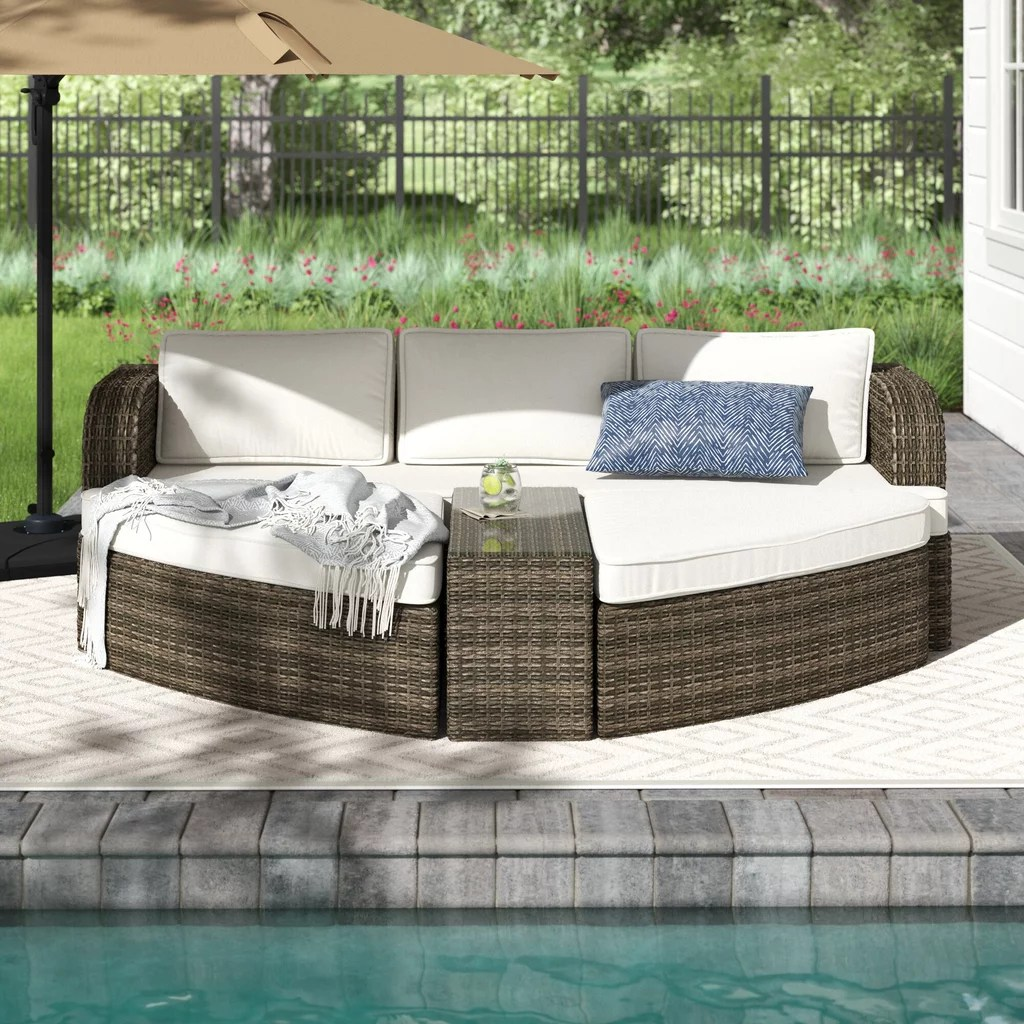 royalston patio chair with cushion