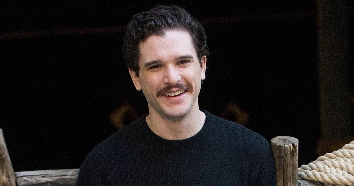 Kit Harington Haircut And Mustache 2019 Pictures