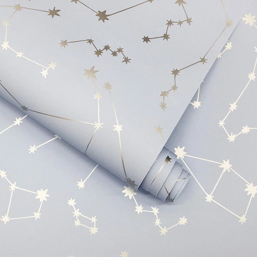 Novogratz Constellations Removable Peel And Stick Wallpaper Temporary Wallpaper From Amazon Popsugar Home Uk Photo 9