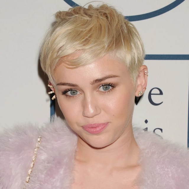 miley cyrus hair evolution   popsugar beauty