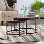Stone Beam Wood And Metal Round Nesting Side End Tables Best Stone And Beam Furniture From Amazon Popsugar Home Australia Photo 6