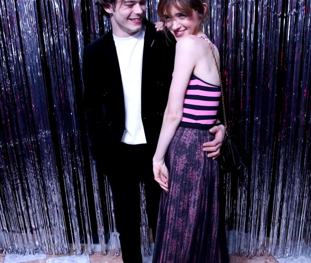 Charlie Heaton And Natalia Dyer Is It Hot In Here Or Is It Just