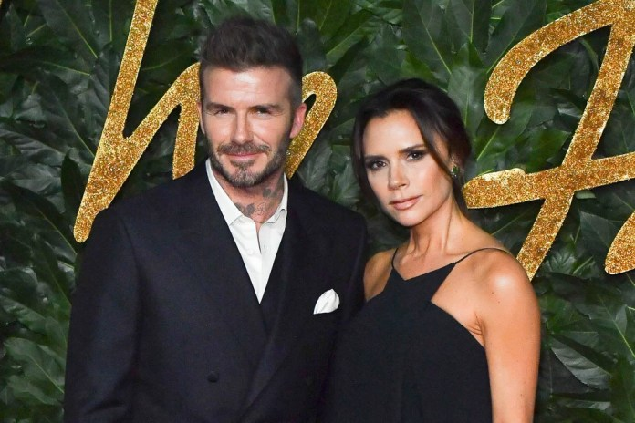 Image result for david beckham and victoria