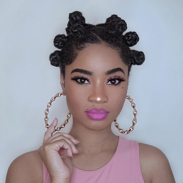 bantu knot hairstyles | popsugar beauty