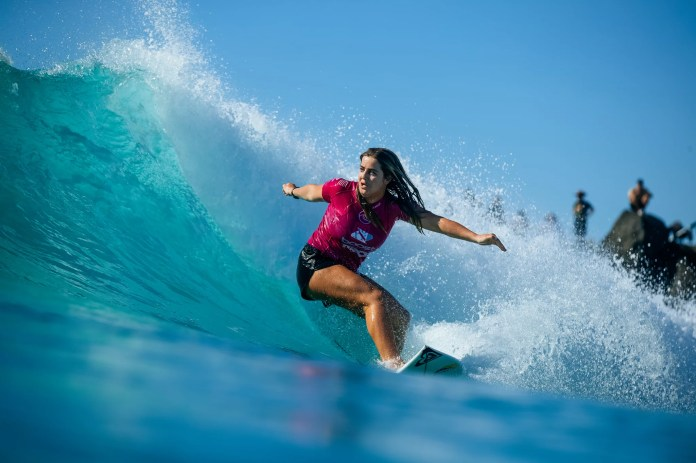 Meet Caroline Marks, Olympic-Bound Surfer and Full-On Force to Be Reckoned With