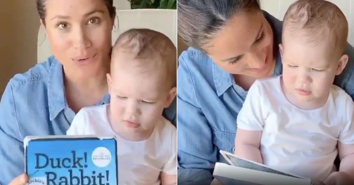 "Oprah Gave Meghan Markle's Son Books Clad With ""Archie's Book Club"" Stickers as Gifts"