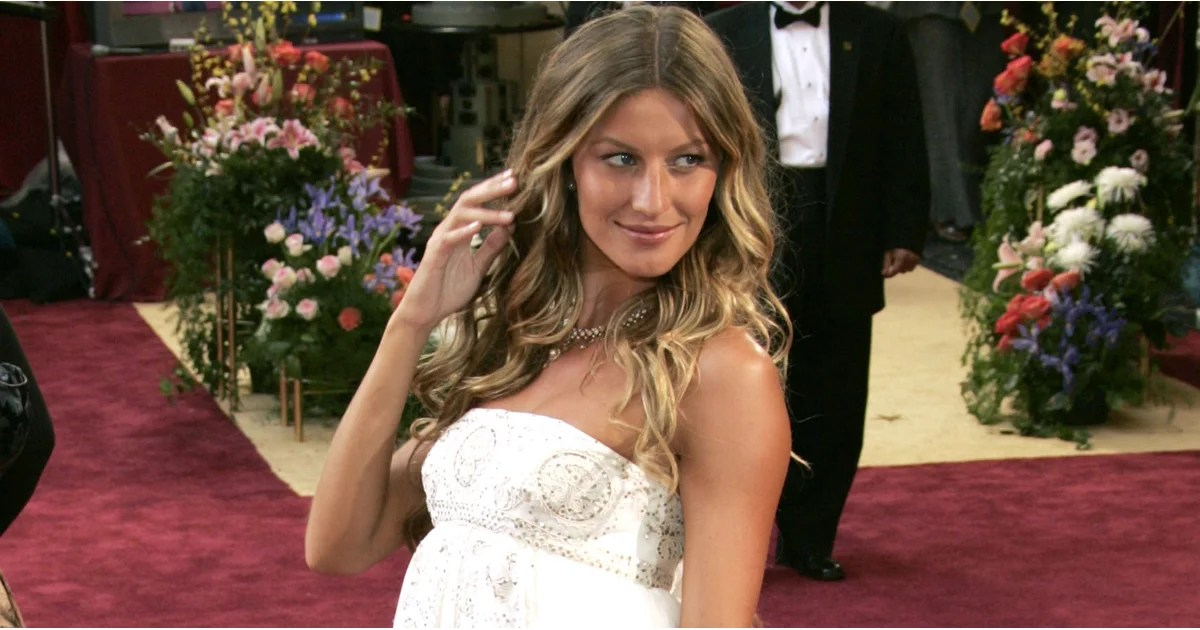 Gisele Bundchen Wedding Dress Photos POPSUGAR Fashion