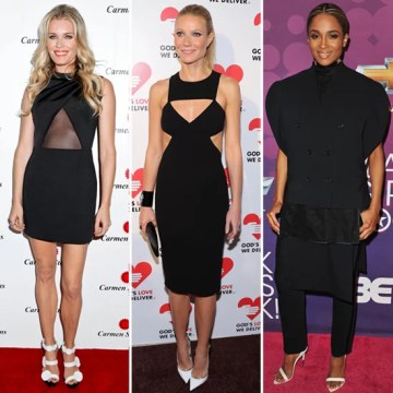 Black Dresses With White Shoes   Celeb Pictures and Shopping     Whether you prefer a little black dress  a black maxi skirt  or pants  the  next time you get dressed in head to toe black  consider finishing off with  white