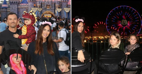 Megan Fox Struggled With Getting Family Photos in Disneyland, and Dang, We Can Relate