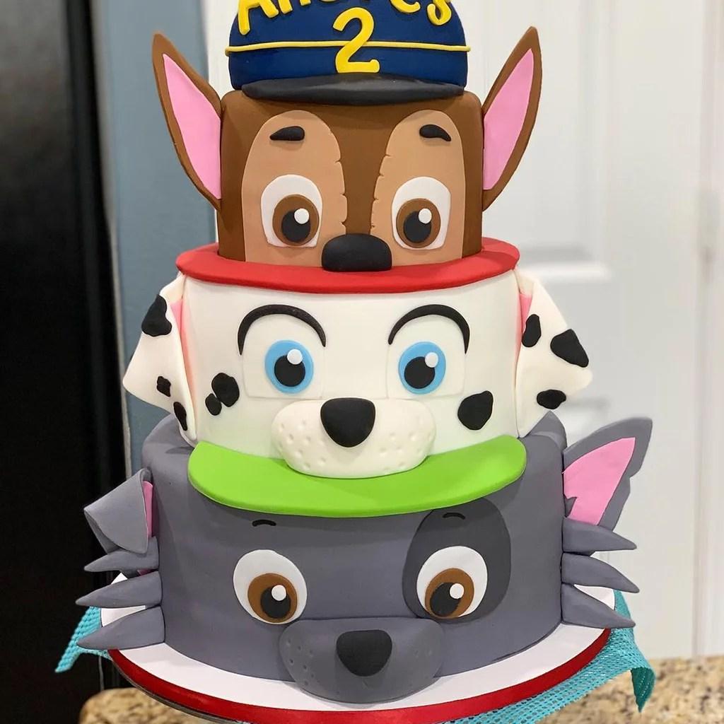 Paw Patrol Birthday Cake Ideas Popsugar Family