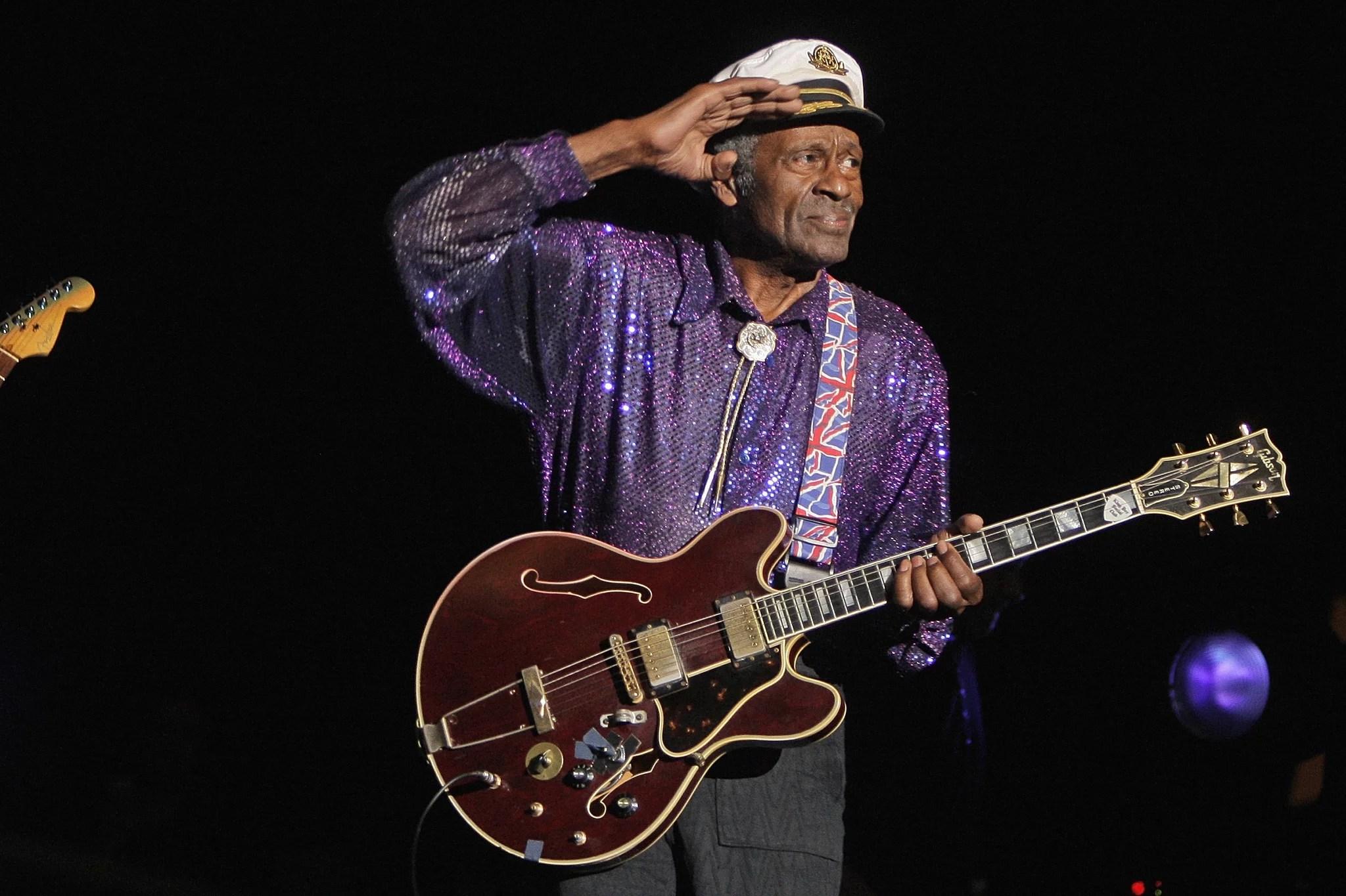 La leggenda Chuck Berry di musica è morto