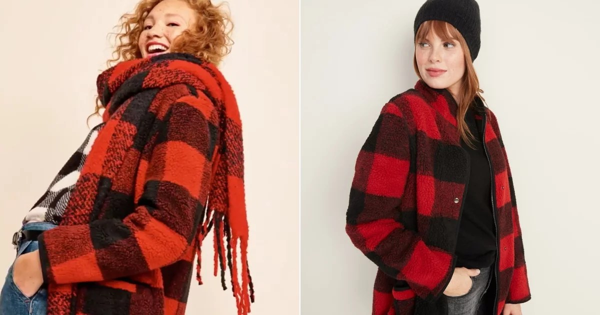 Behold, the Most Perfect Plaid Coat, and It's Only 60 Damn Dollars