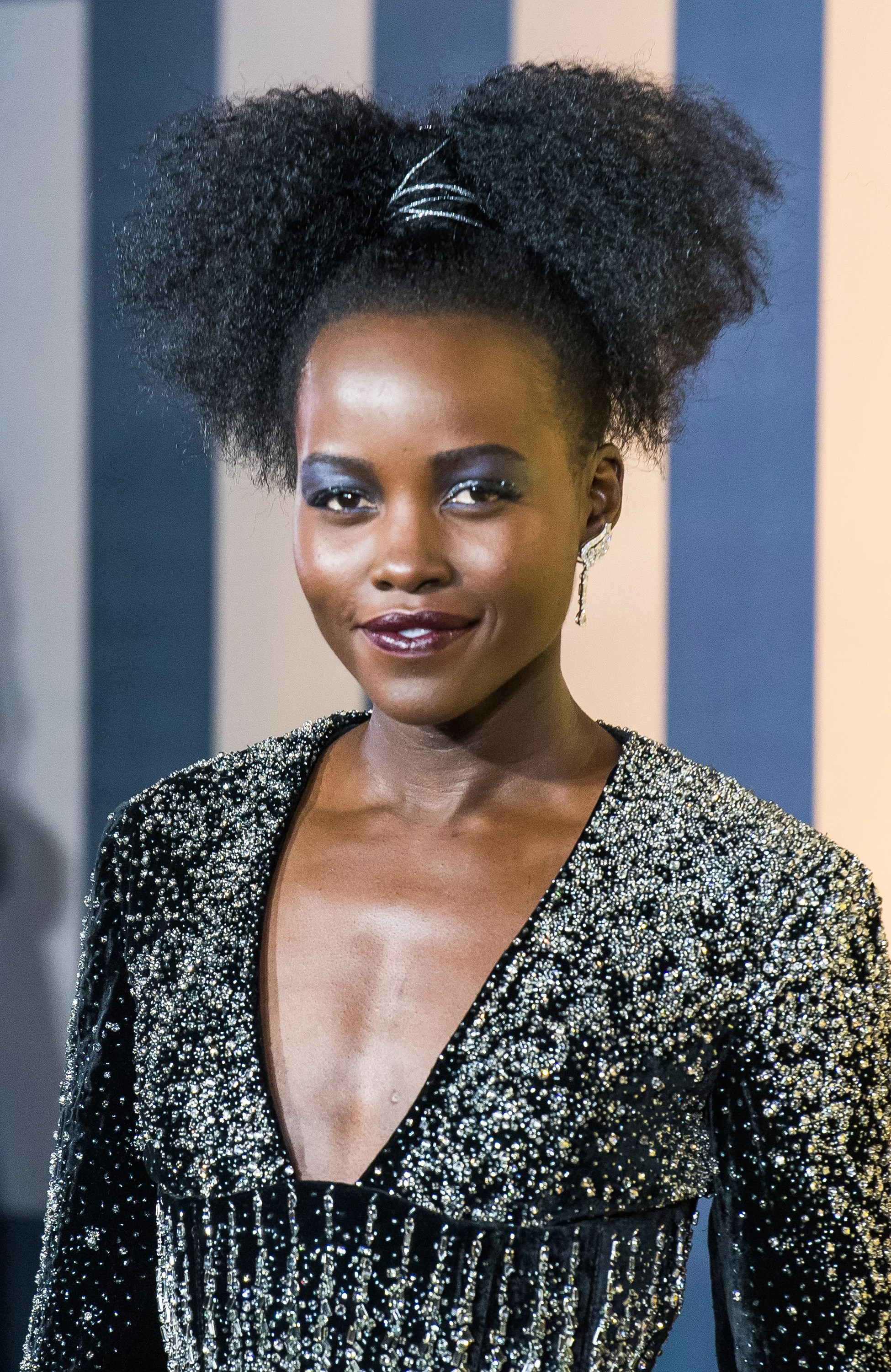 Lupita Nyongo Black Panther Interview February 2018