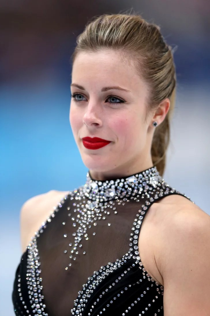 Ashley Wagner USA Womens Figure Skating Hair At Sochi