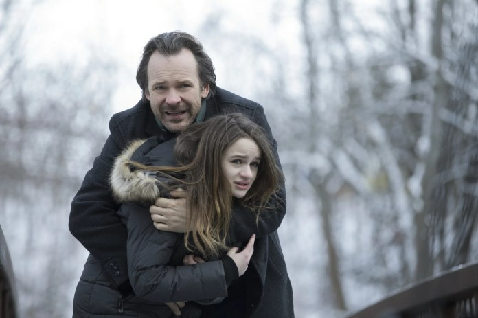 Peter Sarsgaard as Jay and Joey King as Kayla in THE LIE
