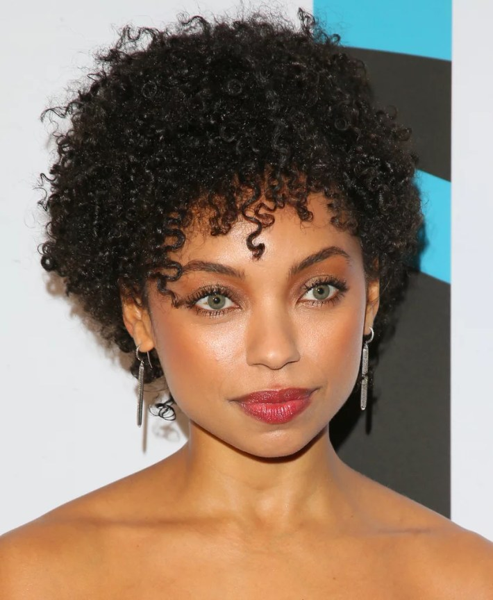 wash and go | short hairstyles for natural hair 2019 | popsugar