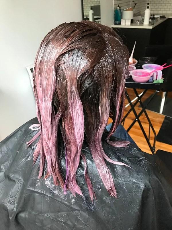 Chocolate Mauve Hair Colour Trend POPSUGAR Beauty Australia