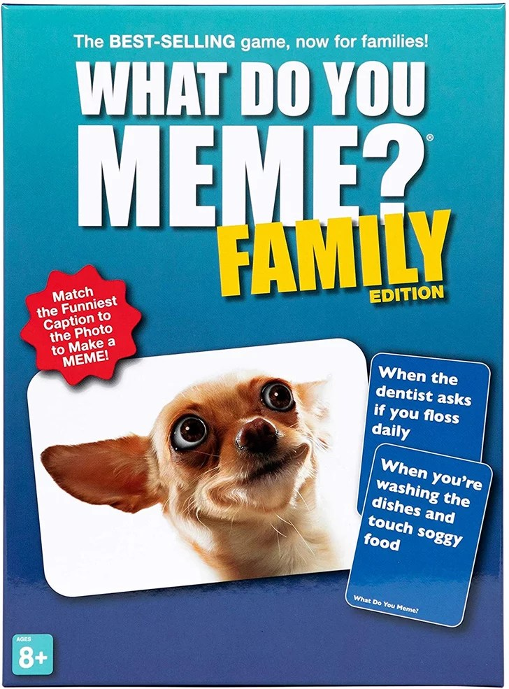 What Do You Meme Family Edition Board Game On Amazon Popsugar