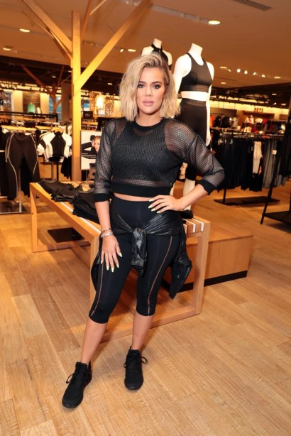 We are the biggest fans of Khloe's post-pregnancy body in Good American!