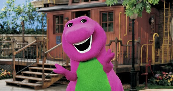 A Live-Action Barney Movie Is in the Works, Because It