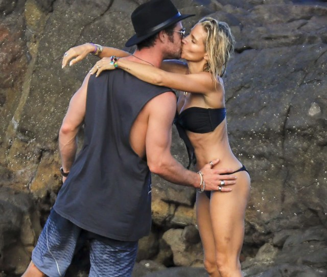 Chris Hemsworth And Elsa Pataky Is It Hot In Here Or Is It Just