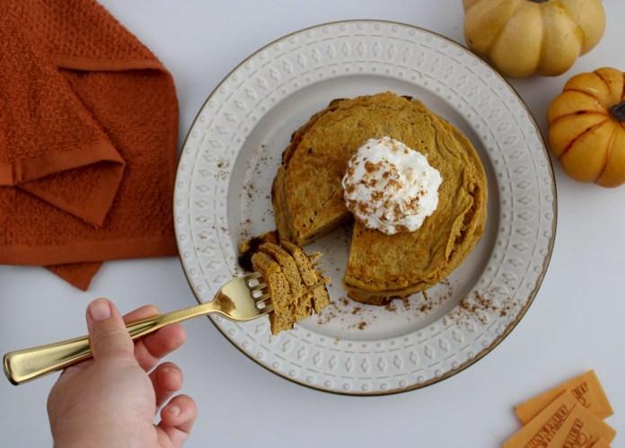 Keto Pumpkin Spice Pancakes Recipe