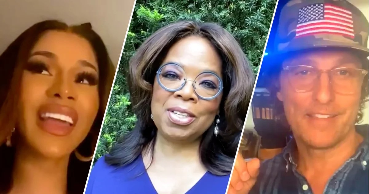 Watch Oprah, Cardi B, and More Stars Share Uplifting Words of Wisdom For the Class of 2020