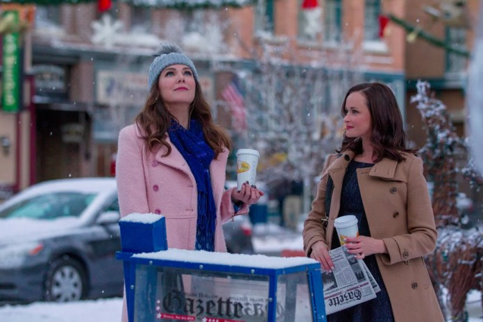 Gilmore Girls a Year in the Life. Invierno.
