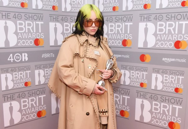 Lewis Capaldi, Billie Eilish, and More: See All the Winners of the 2020 BRIT Awards