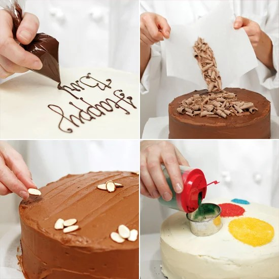 Easy Cake Decorating Ideas   POPSUGAR Food Easy Cake Decorating Ideas