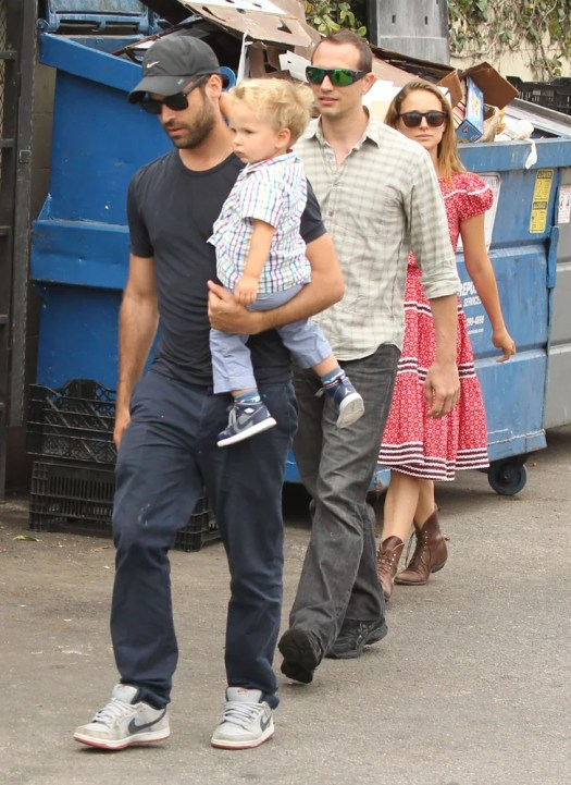 Natalie Portman and Benjamin Millepied headed to lunch ...