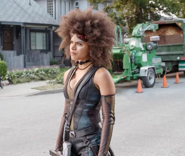 Deadpool 2 Zazie Beetz 2018 Ph Joe Lederer Tm Copyright