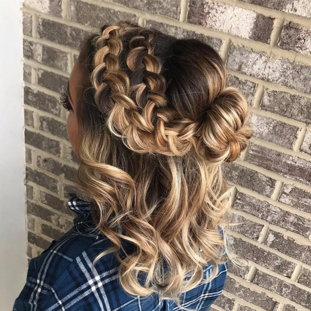 midlength party hairstyles | popsugar beauty