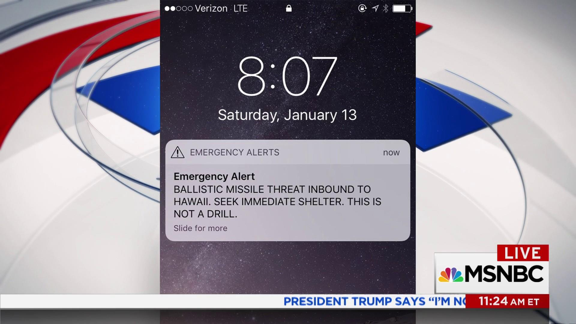 Hawaii False Alarm Ensuing Chaos Is Teachable Moment Experts Say