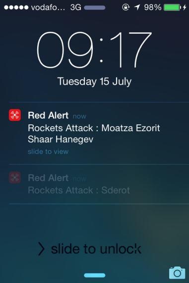Red Alert App