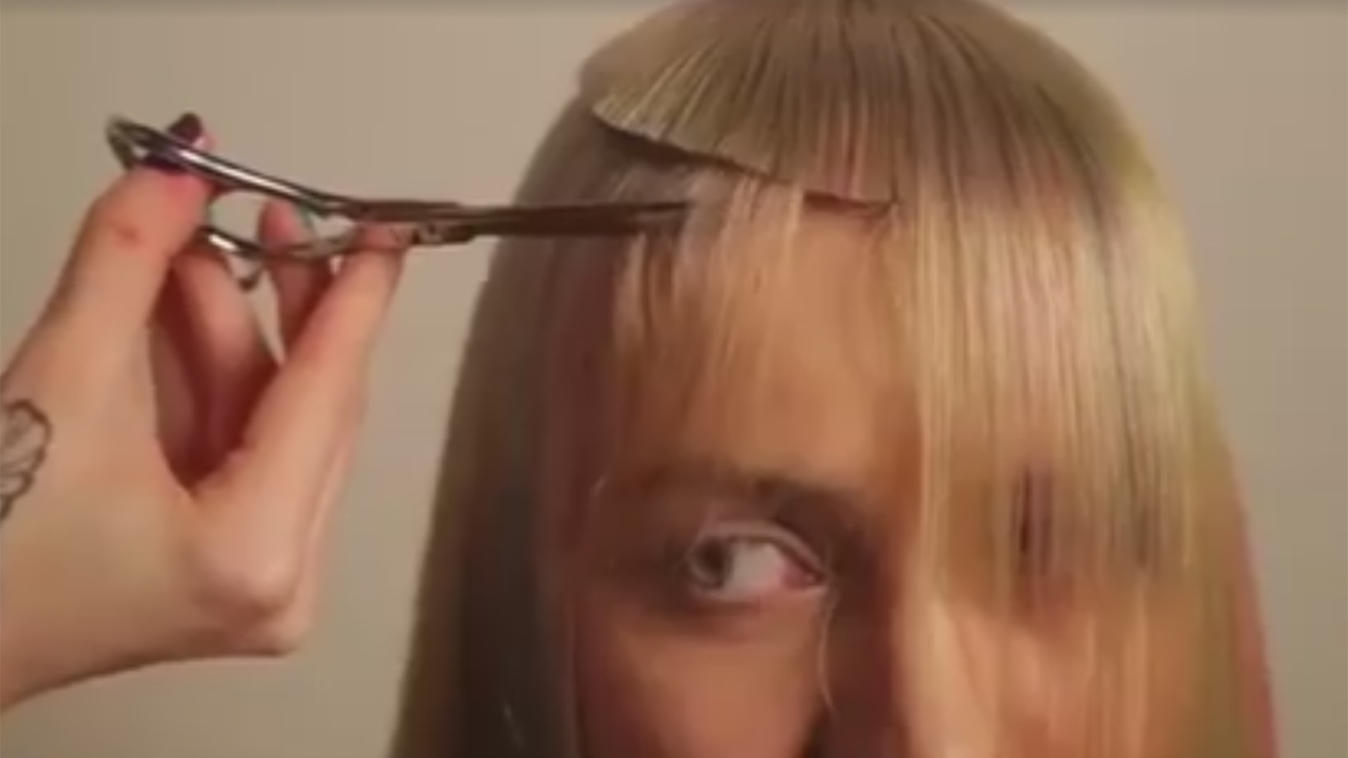 Extreme Haircut Gets Blunt Reaction From The Internet