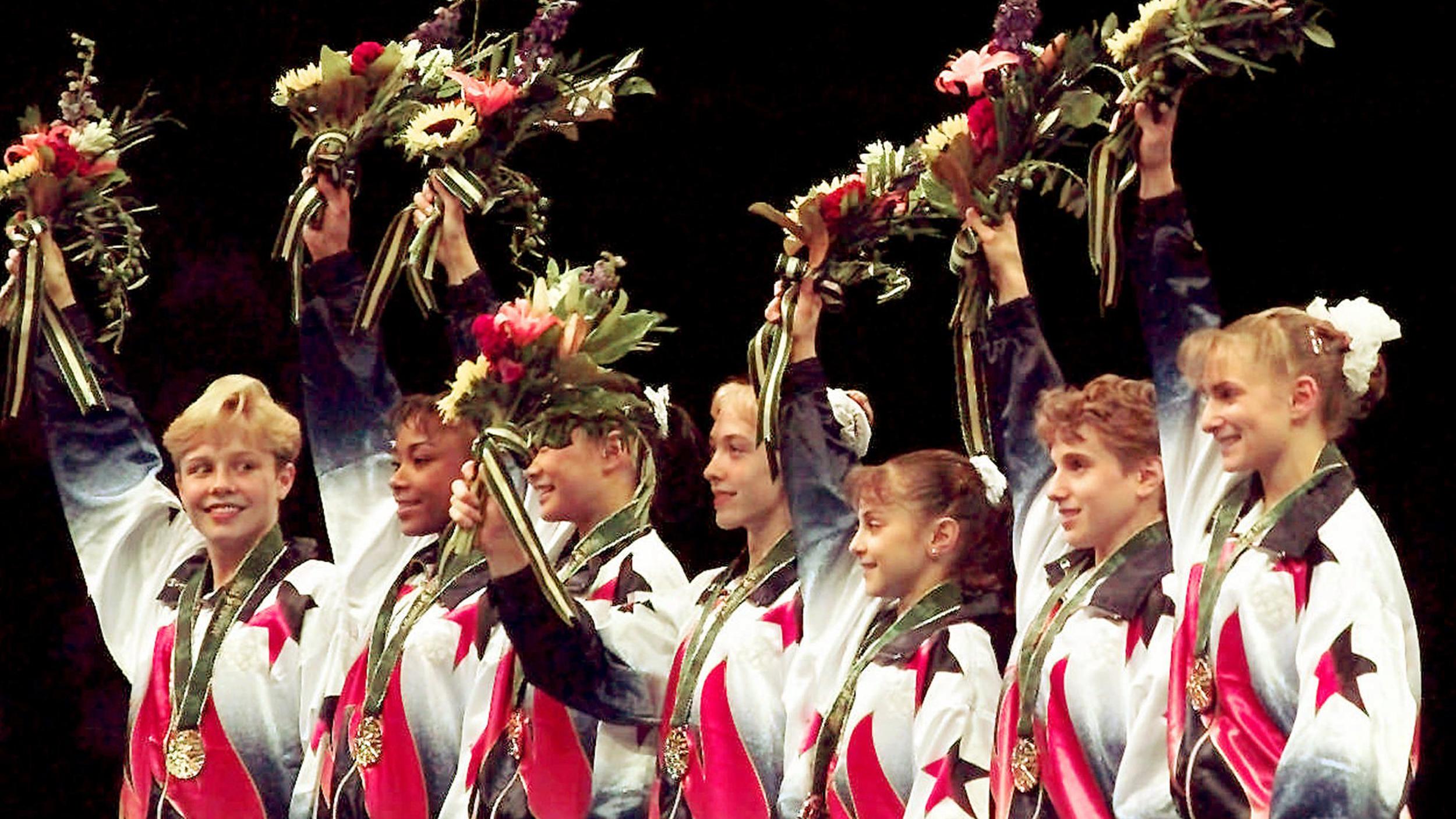 'Magnificent Seven' US Gymnastics Team Revisits 1996