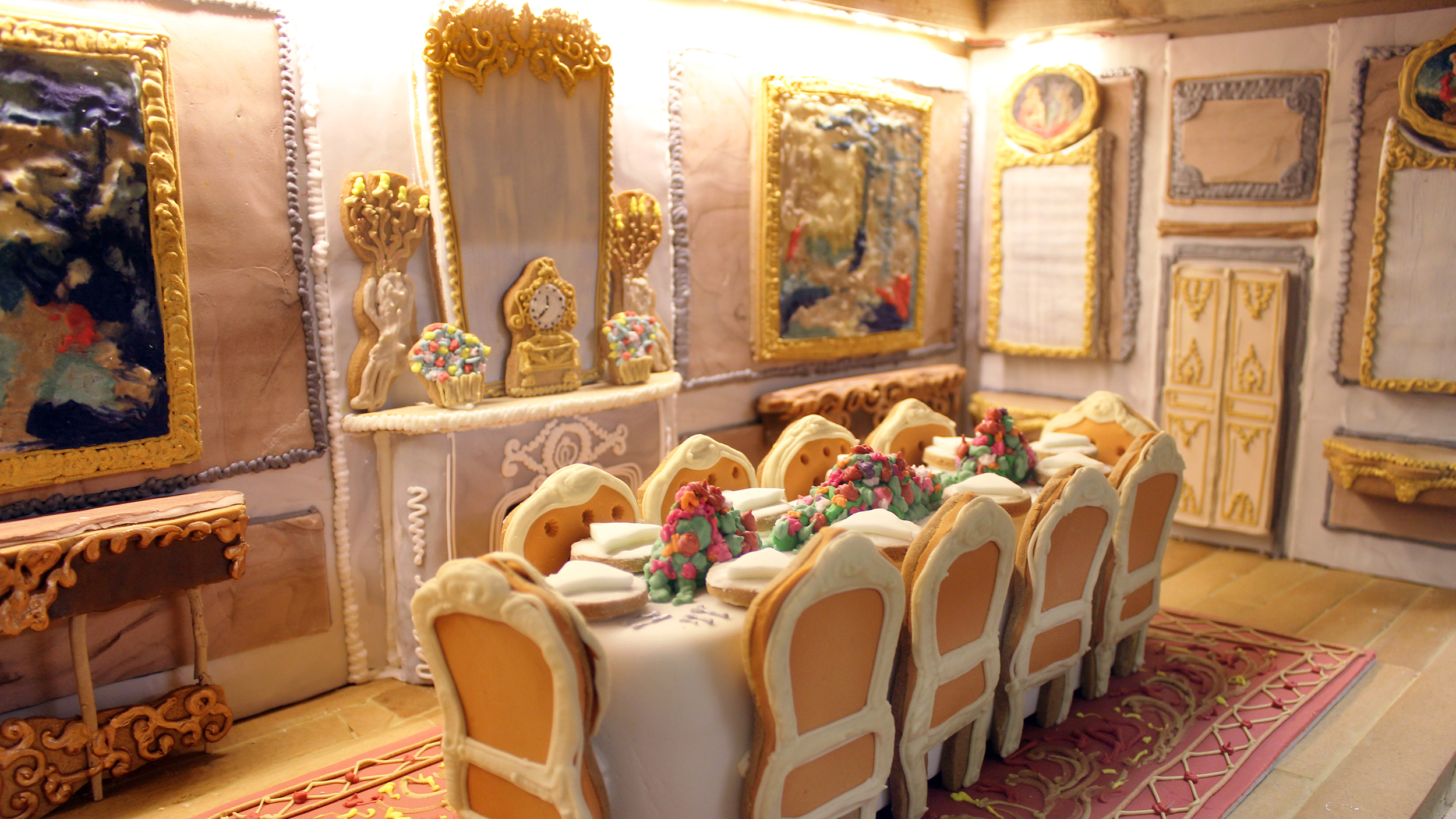 Gingerbread House By Biscuiteers Took 500 Hours To Make