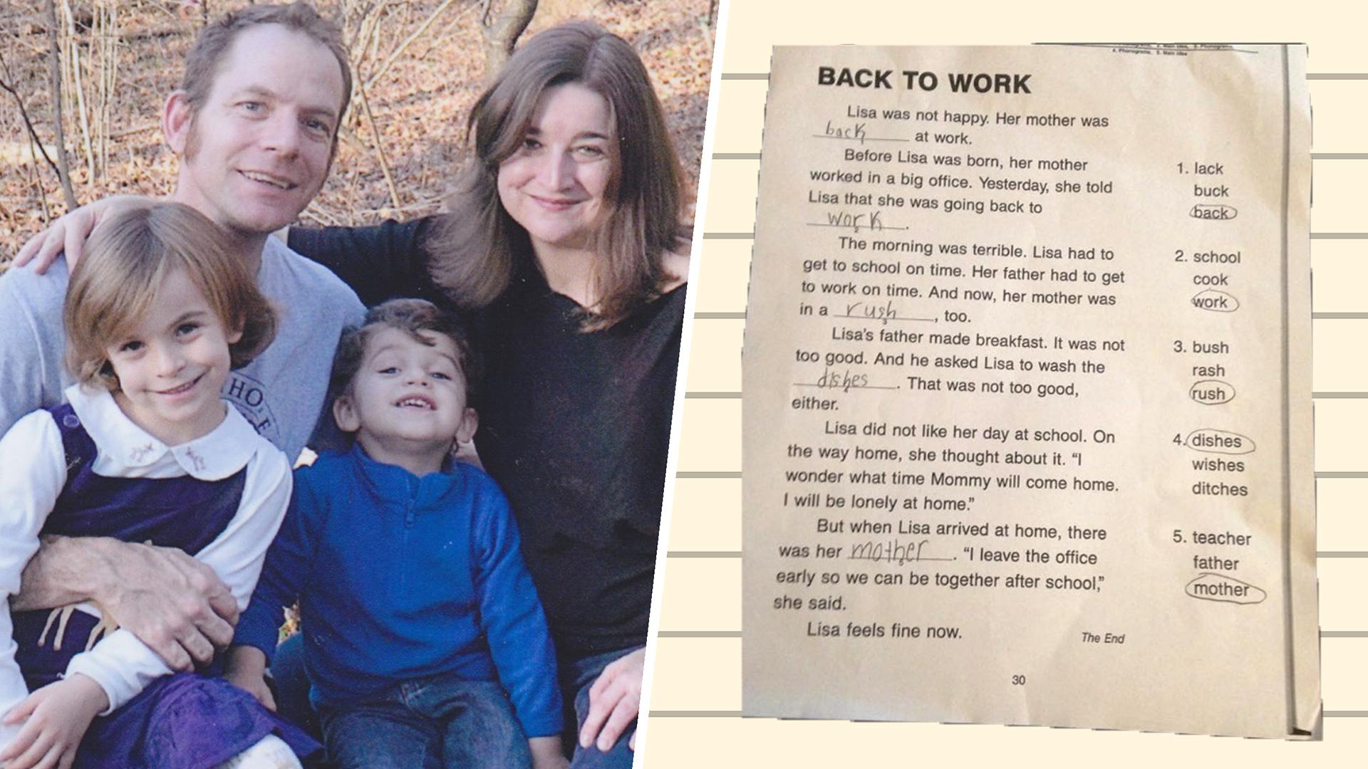 Mom Rewrote Her Daughter S School Worksheet In The Best