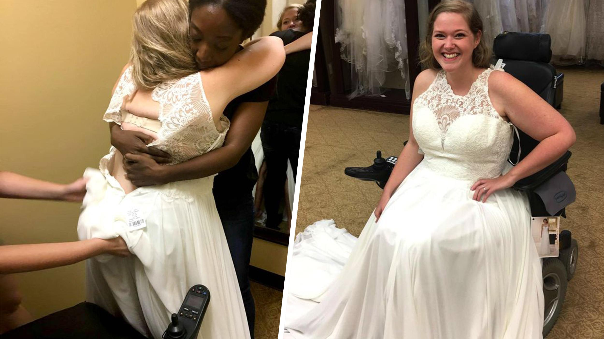 Shopping For A Wedding Dress In A Wheelchair