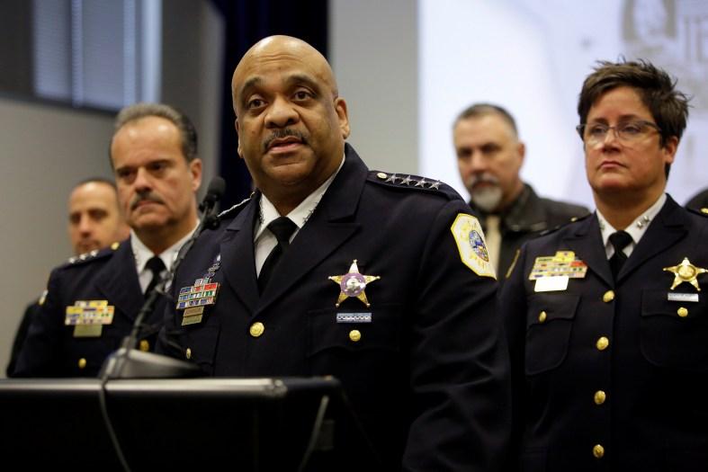 Image result for Police Superintendent Eddie Johnson smollett