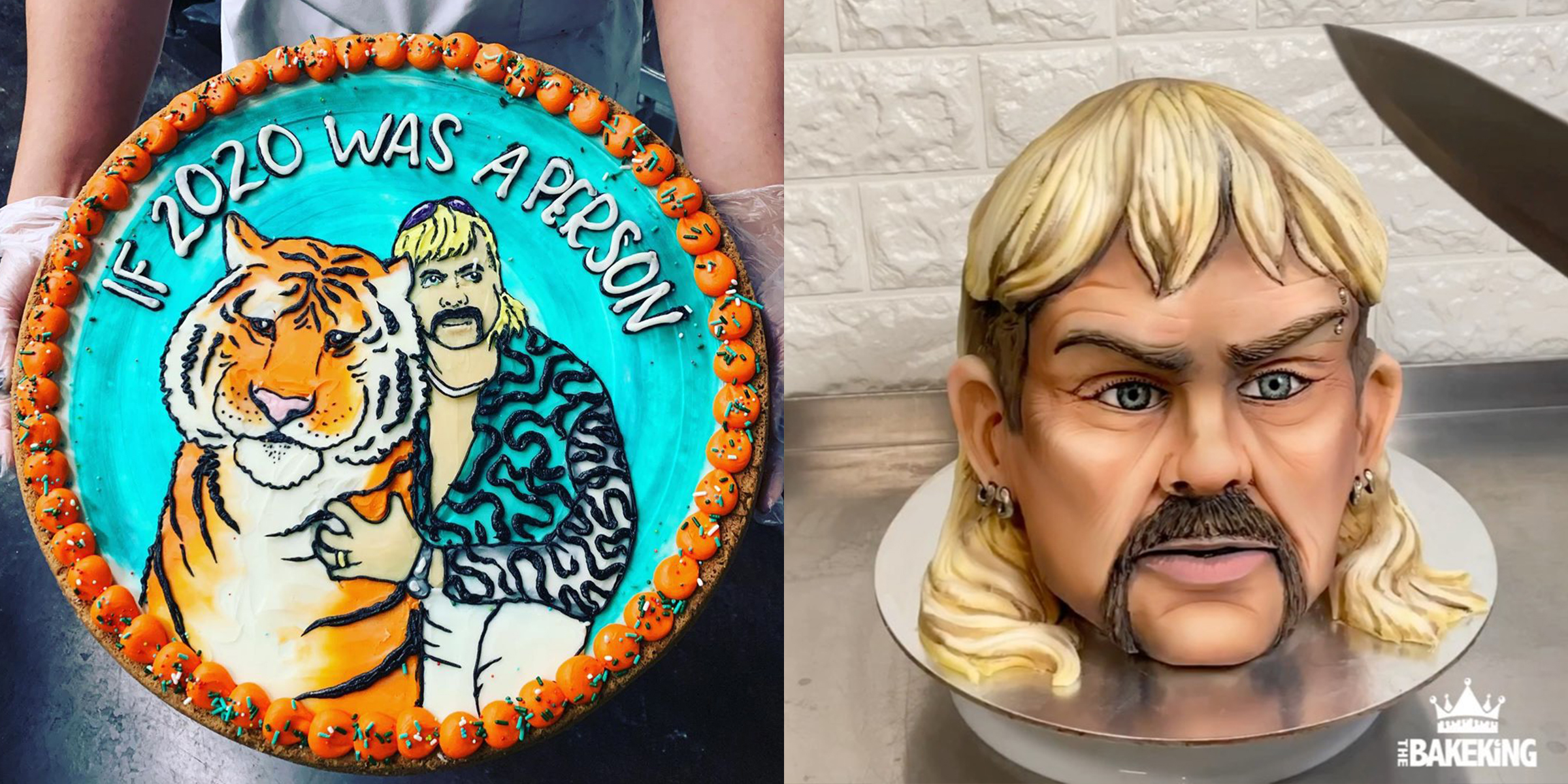 Love Tiger King These Joe Exotic Cakes Are Taking Over Social Media