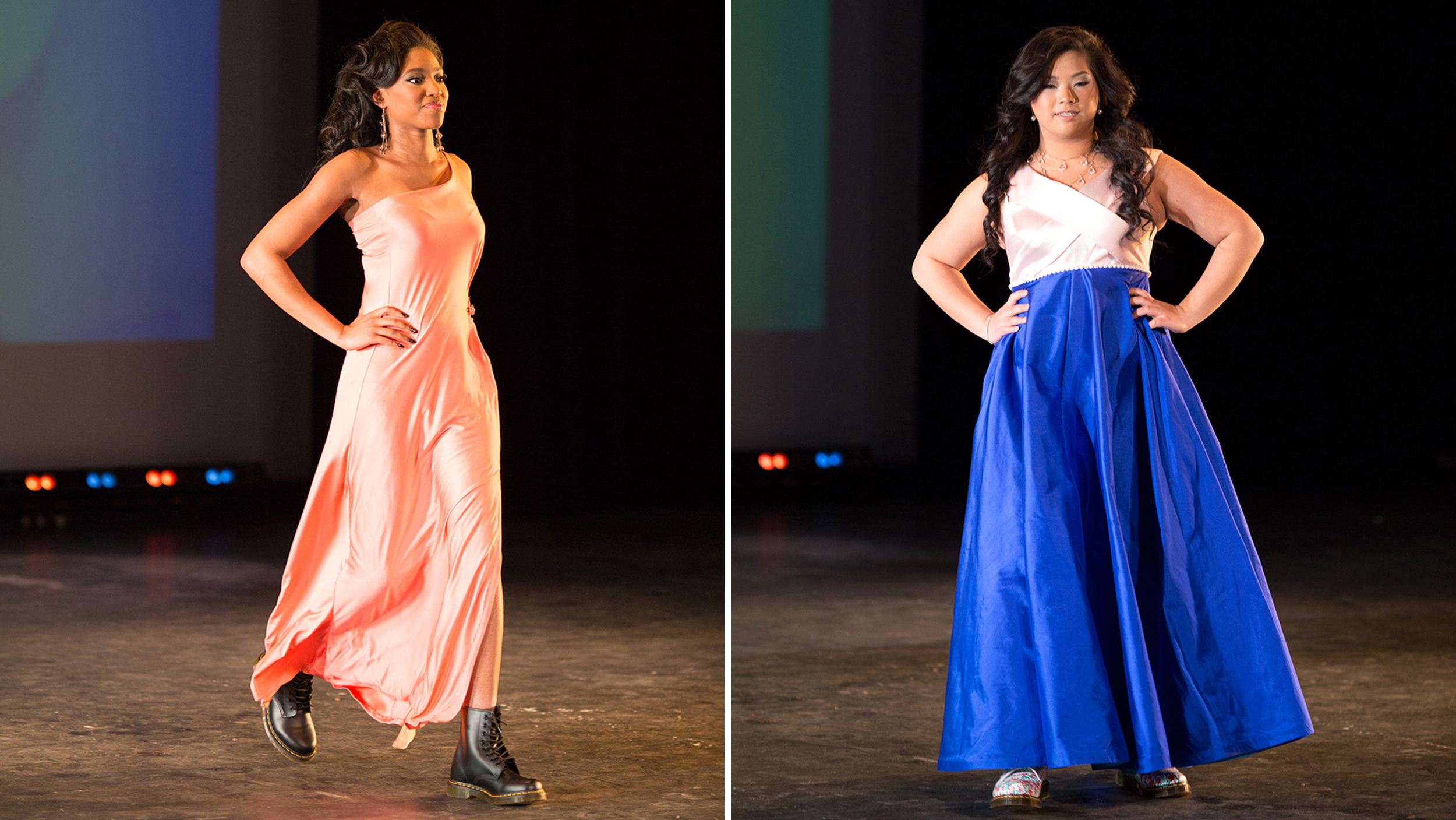 Top Students Earn Designer Prom Dresses (and Lesson In