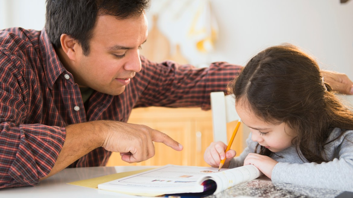 Why you shouldn't help your kids with their homework