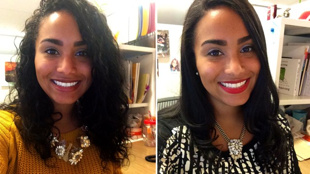 curlpower: women switch from curly to straight hairstyles to