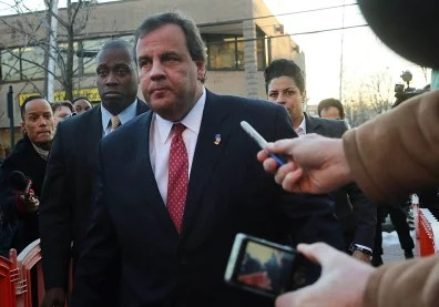 Image: Chris Christie in Fort Lee to meet Mayor Mark Sokolich.