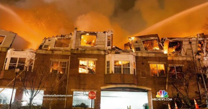 Massive Fire At Edgewater S Avalon Apartments Strands Hundreds